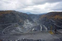 Bergbaugrube Lizenzfreie Stockfotos