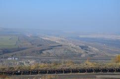 Bergbaulandschaft Stockfotos