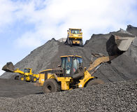 Bergbauoperationen Lizenzfreie Stockfotografie
