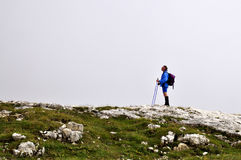Bergbeklimmer Stock Afbeelding