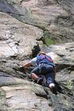 Bergbeklimming Stock Foto's