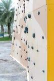 Bergbeklimmingsmuur Stock Afbeelding