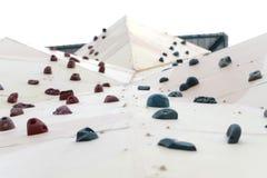 Bergbeklimmingsmuur Stock Fotografie