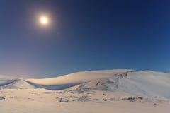 Bergblauw Stock Fotografie