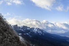Bergblick Stockbild