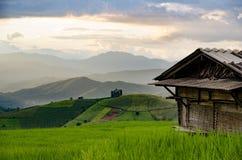 Bergblick, schöne Landschaft Lizenzfreie Stockbilder