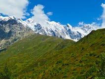Bergblick in Svaneti-Bereich, Georgia, Europa stockfoto