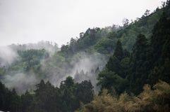 Bergblick von Fukusumi Stockfotografie
