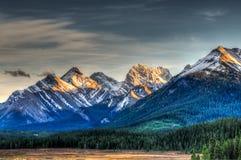 Bergblicke stockbild