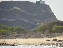 Bergblicke in Fujairah - Vereinigte Arabische Emirate Lizenzfreie Stockfotos