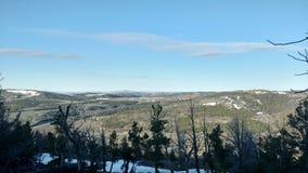 Bergblicke in Wyoming Lizenzfreies Stockfoto