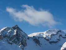 Bergbovenkant Stock Afbeelding