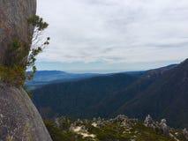 Bergbovenkant in Nieuw Zeeland Stock Fotografie