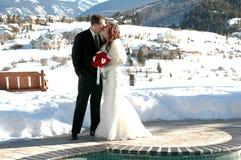 bergbröllop Royaltyfri Foto