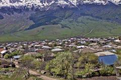 Bergby, Armenien Royaltyfria Foton