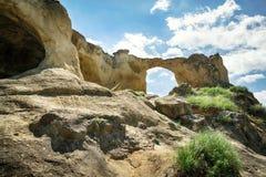 Bergcirkel nära Kislovodsken, Ryssland Fotografering för Bildbyråer