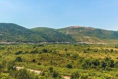 Bergdal, Montenegro Royaltyfri Foto
