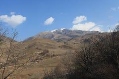 Bergdorf in Armenien Ijevan Lizenzfreie Stockfotografie