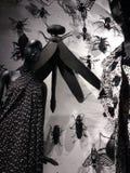 Bergdorf dobrego człowieka pokazu okno, Miasto Nowy Jork, NY, usa Elegancki, moda zdjęcia royalty free