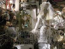 Bergdorf Goodman Holiday Window, New York City, NY, USA Stock Photography