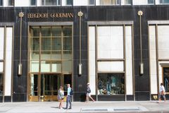 Bergdorf Goodman Royalty Free Stock Photos