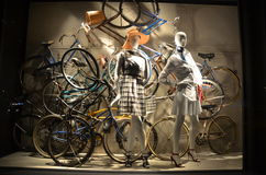 Bergdorf Goodman in NYC Stock Images