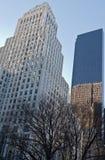 Bergdorf Goodman und der Trumpf-Kontrollturm in New York stockbilder