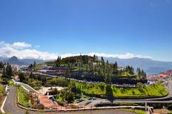 Bergdorp Artenara royalty-vrije stock afbeeldingen
