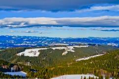 Berge in Österreich Stockfotografie
