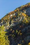 Berge Österreich im Herbst Stockfotos