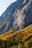 Berge Österreich im Herbst Lizenzfreie Stockbilder
