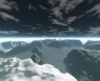 Berge stock abbildung