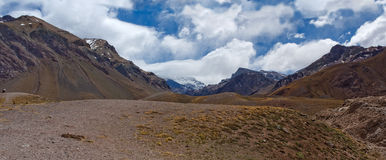 Berge Aconcagua Stockfotografie