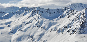 Berge (Alpen) Lizenzfreie Stockfotografie