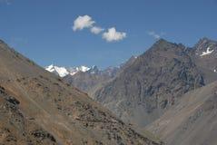 Berge in Chile Stockfoto