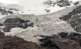 Berge in den Schweizer Alpen Stockfoto