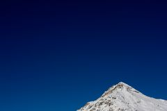 Berge in den Schweizer Alpen Stockbild