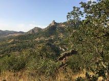 Berge in der Krim Stockbild