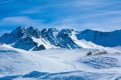 Berge in der Schweiz Stockbild