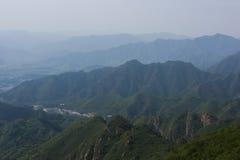 Berge in der tibetanischen Hochebene stockfotografie