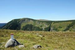 Berge in der Tschechischen Republik Lizenzfreie Stockbilder