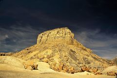 Berge der Wüste soutwest lizenzfreie stockfotos