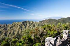Berge des Anaga Lizenzfreies Stockfoto