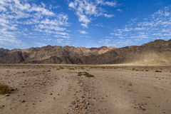 Berge des Roten Meers Stockfotos