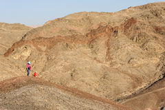 Berge des Roten Meers stockfotografie