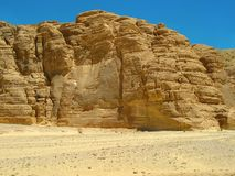 Berge die Wüste. Afrika Stockfotografie