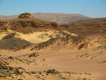 Berge die Wüste. Afrika Lizenzfreie Stockfotografie