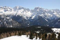 Berge - Dolomit Stockfoto