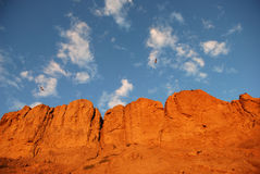 Berge für einen Hintergrund Lizenzfreies Stockbild