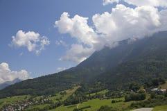 Berge Frankreich Stockfotografie